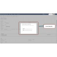 Custom dialogs can help improve data entry